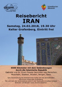 Iranvortrag Flyer DIN A5