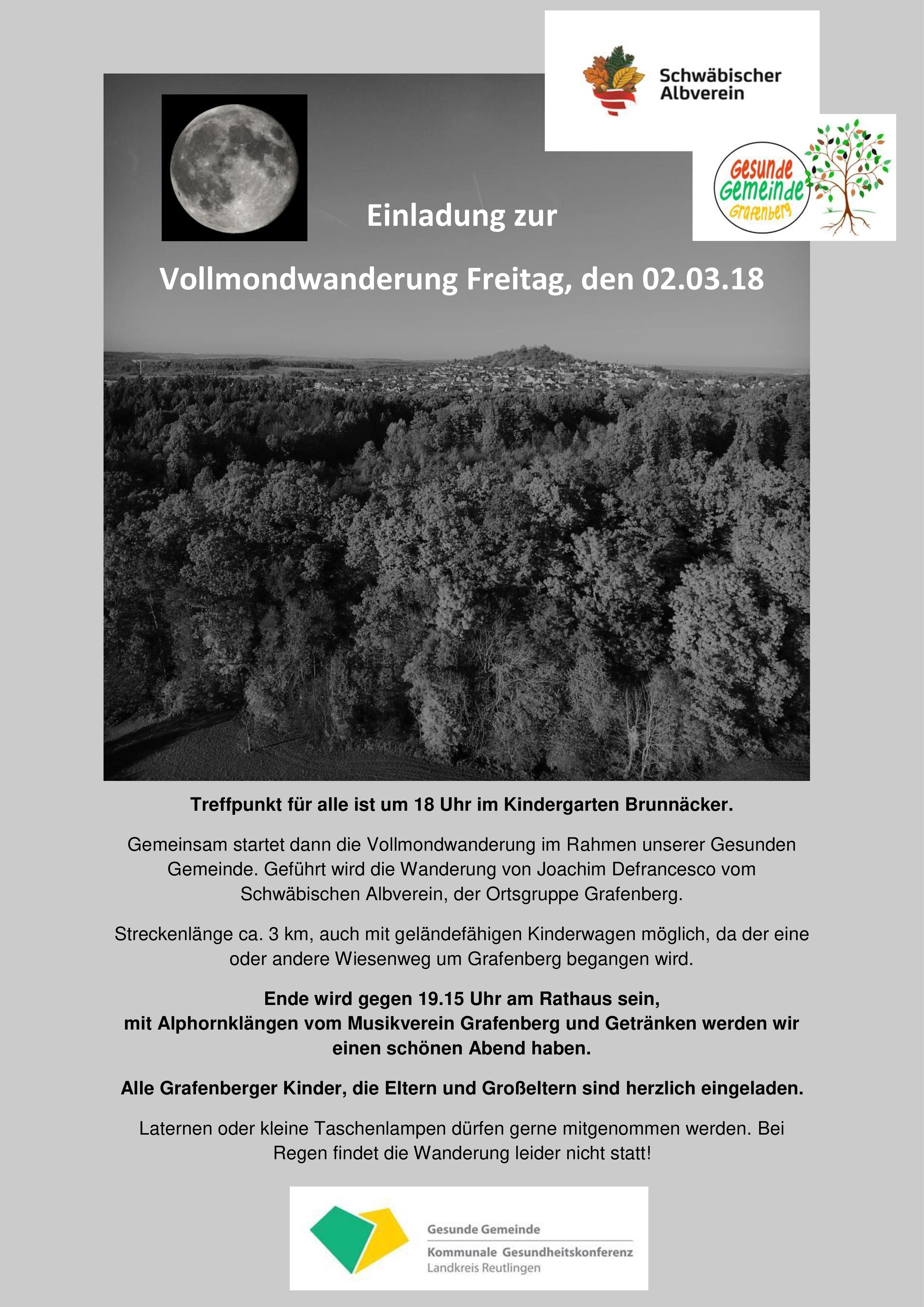 SAV Grafenberg | Schwäbischer Albverein – Ortsgruppe Grafenberg
